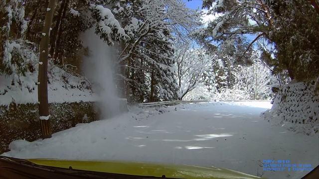 雪の英彦山へドライブ-25
