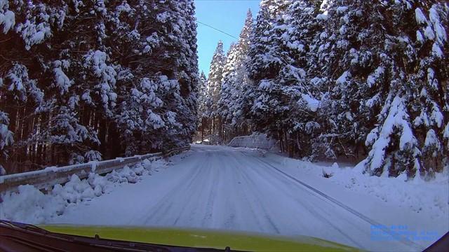 雪の英彦山へドライブ-3