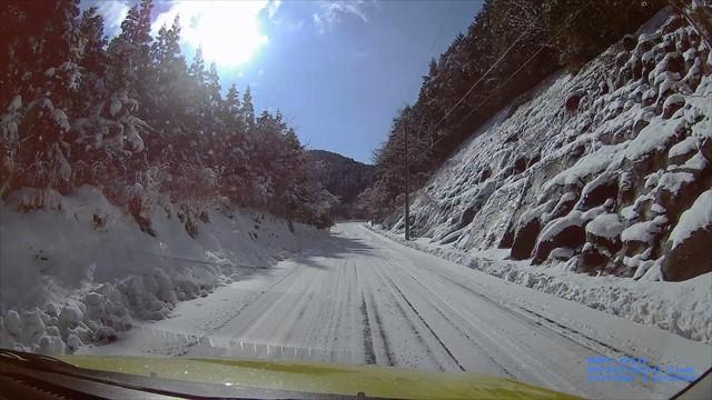 雪の英彦山へドライブ-4