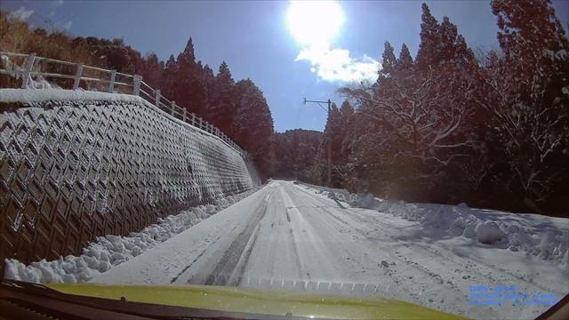 雪の英彦山へドライブ-6