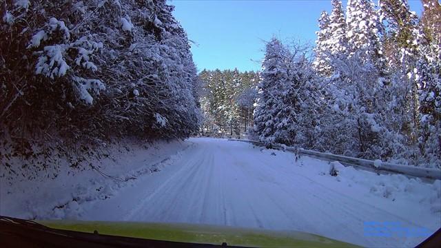 雪の英彦山へドライブ-7