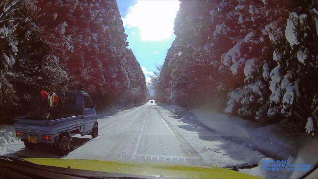 雪の英彦山へドライブ-8