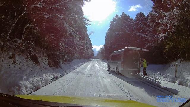 雪の英彦山へドライブ-9