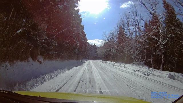 雪の英彦山へドライブ-10