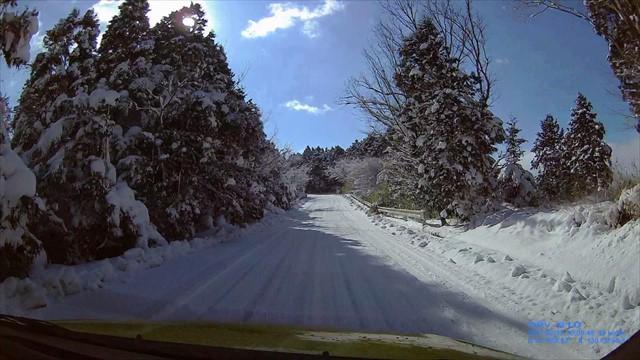 雪の英彦山へドライブ-11