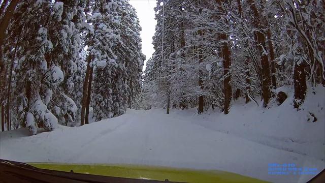 雪の英彦山へドライブ-17