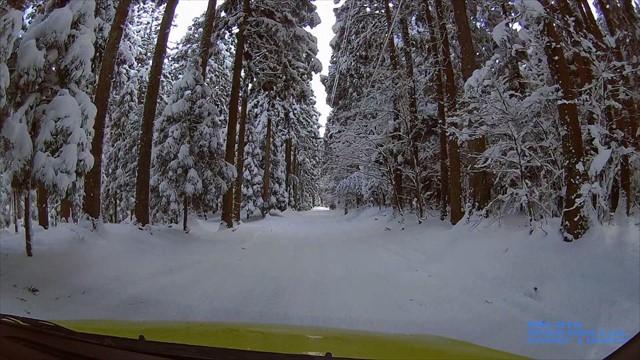 雪の英彦山へドライブ-18