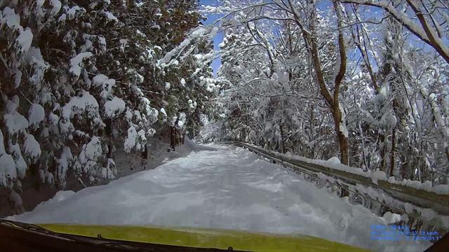 雪の英彦山へドライブ-21