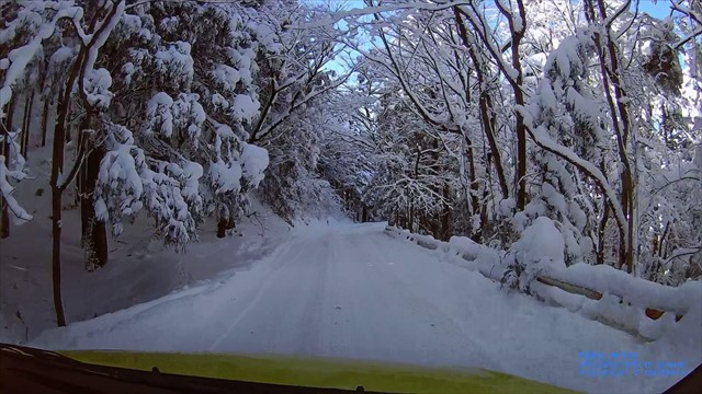 雪の英彦山へドライブ-22
