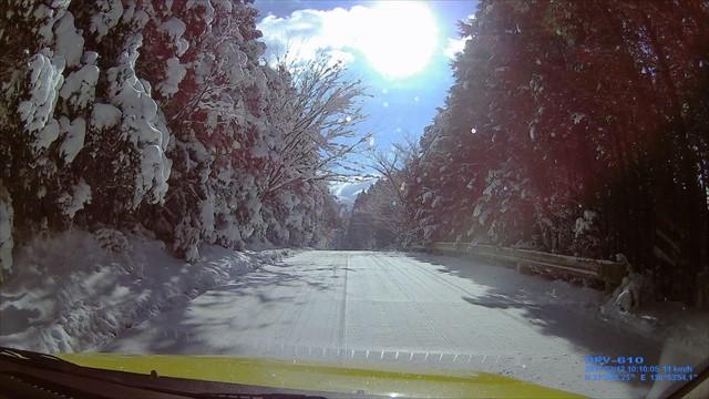 雪の英彦山へドライブ-12