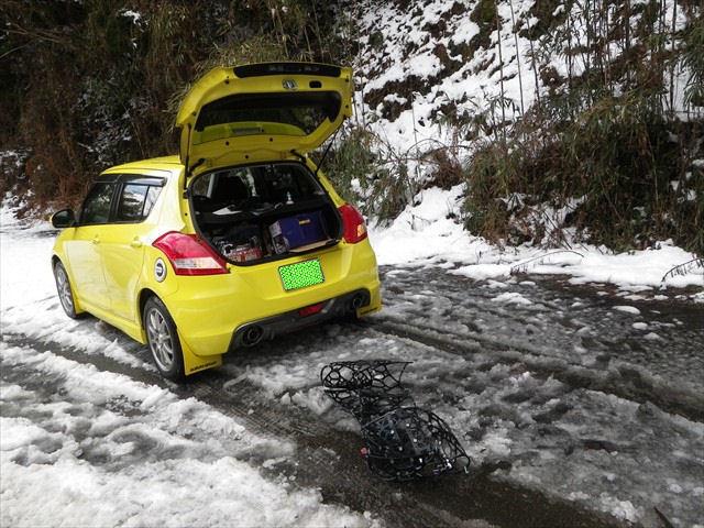 雪の英彦山へドライブ-31