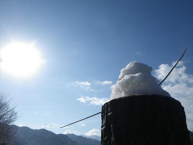 雪の英彦山へドライブ-1