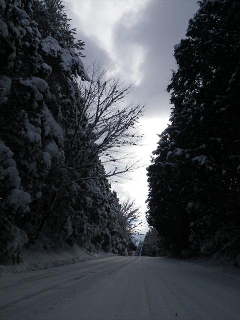 雪の英彦山へドライブ-15