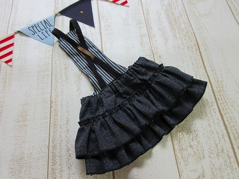 M*mania★ルビーちゃんのデニムフリルスカート