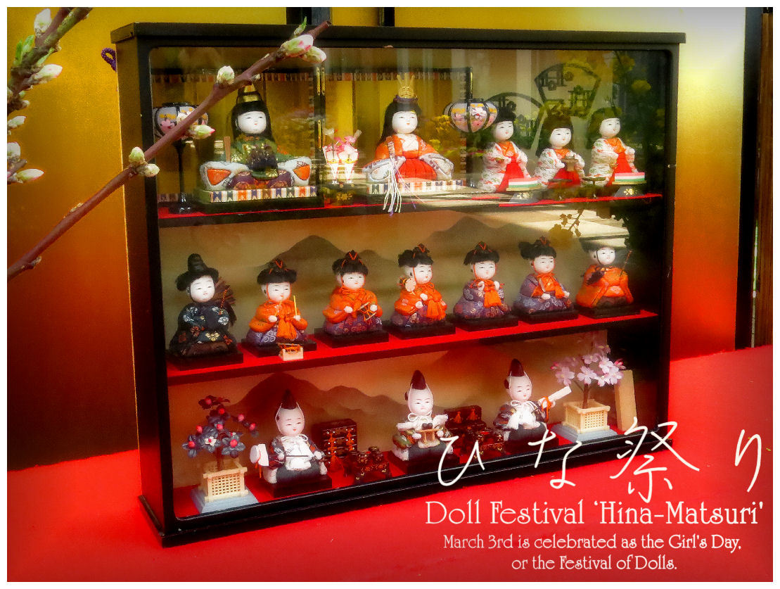 Doll Festival'Hina-Matsuri'