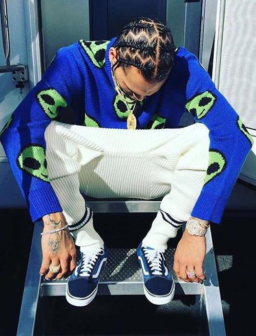 クリス・ブラウン(Chris Brown):フォーエバー21(Forever 21)/バンズ(Vans)