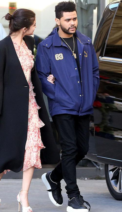 ザ・ウィークエンド(The Weeknd):プーマ(PUMA)/アレクサンダー・マックイーン(Alexander McQueen)