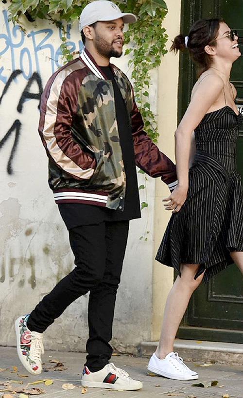 ザ・ウィークエンド(The Weeknd):ヴァレンティノ(Valentino)/グッチ(Gucci)