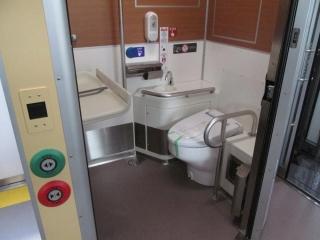 西武40000系トイレ