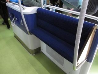 西武40000系パートナーゾーン座席