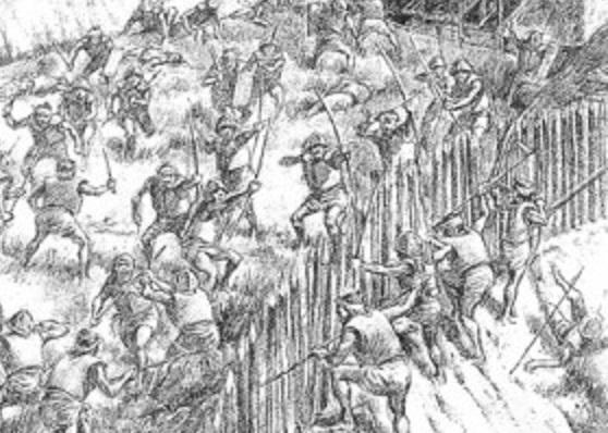 古墳時代の戦闘