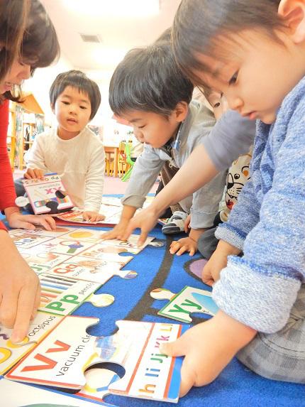 【もうすぐ幼稚園】プレーMIE ビッグパズル 1