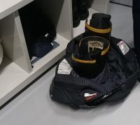ズボンと靴のセット