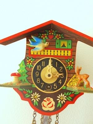 西ドイツ製ミニチュアはと時計