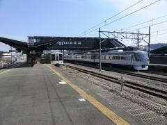 S-TRAIN到着直前