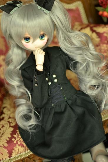 銀髪ドリルツインテウィッグー2