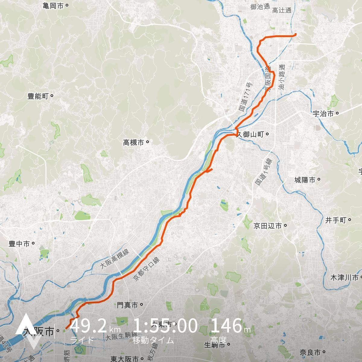 イロリムラ→自宅