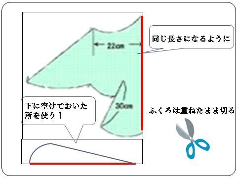 鳥型凧の作り方2