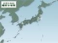 2月18日地震分布図