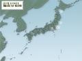 2月19日地震分布図