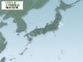 3月1日地震分布図