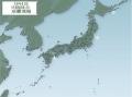 地震分布図3月4日