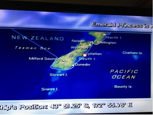 3月23日 ニュージーランド アカロア港