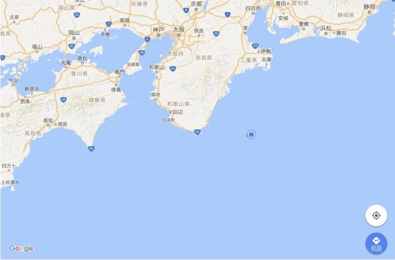 4月23日 和歌山県沖
