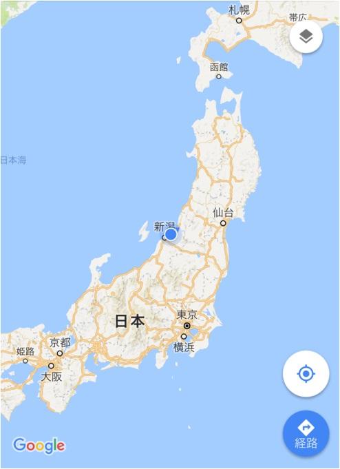4月27日 新潟 現在地1