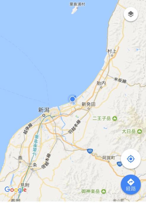 4月27日 新潟 現在地2