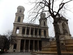 パリ_サン・シュルピス教会1