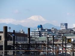 20170303三鷹跨線橋からの富士山4