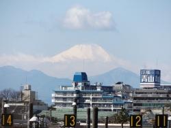 20170303三鷹跨線橋からの富士山7