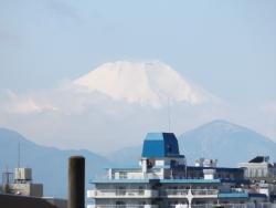 20170303三鷹跨線橋からの富士山8