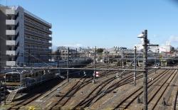 20170303三鷹跨線橋からの富士山001