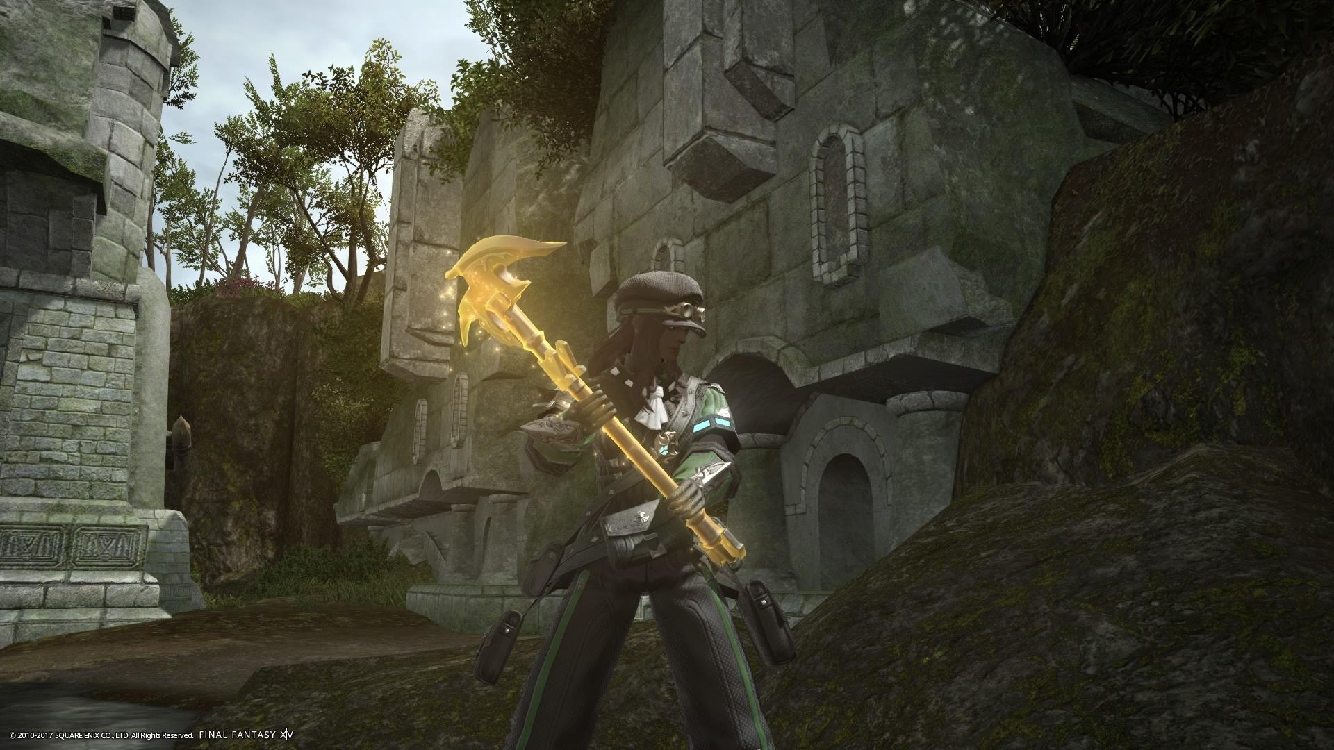 ギャザラーキープ武器