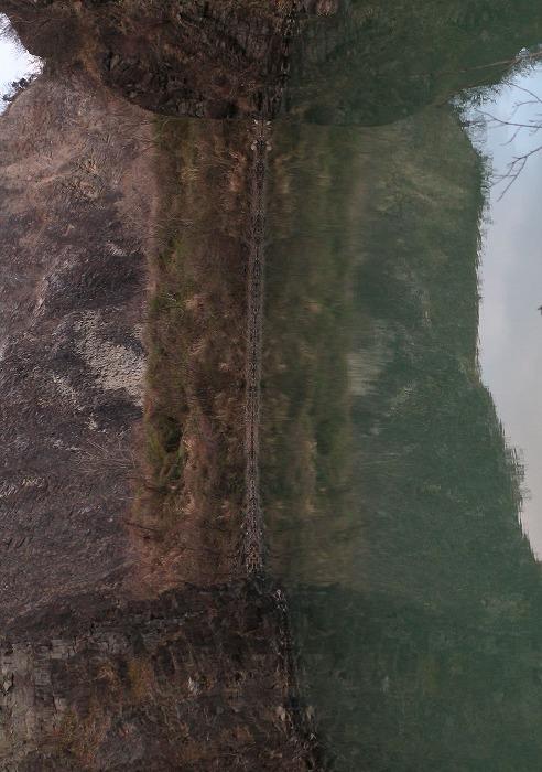 爺神山池 左にまわす 29.2.28