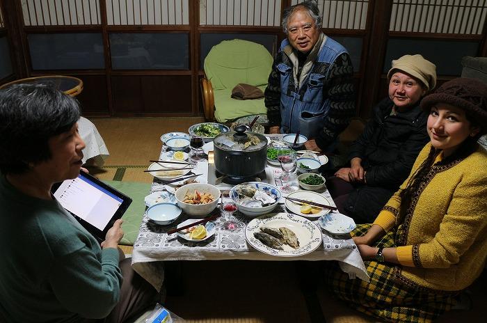 海友荘へのお客様 29.3.5