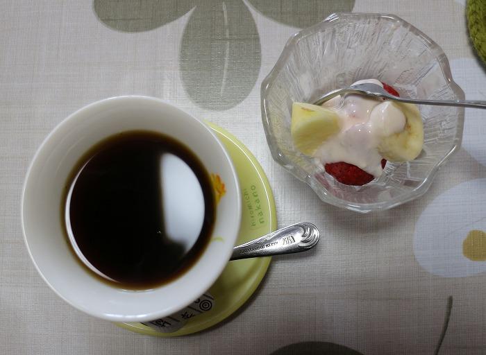食事コーヒーデザート 29.3.15