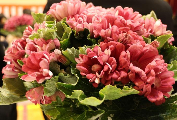 卒業式 テーブルのお花 29.3.17